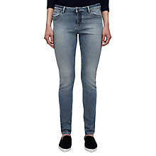 Buy Jigsaw Richmond Skinny Jeans, Washed Blue Online at johnlewis.com