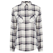 Buy Oasis Tori Check Shirt, Multi Online at johnlewis.com