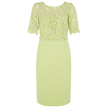 Buy Kaliko Lace Bodice Dress, Light Green Online at johnlewis.com
