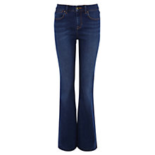 Buy Karen Millen Denim Autumn Kickflare Jean Trouser, Denim Online at johnlewis.com