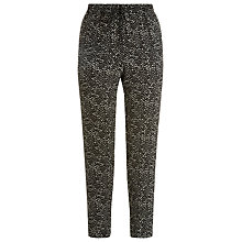 Buy Windsmoor Printed Trousers, Multi Black Online at johnlewis.com