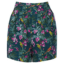 Buy Oasis Rainforest Print Shorts, Multi Online at johnlewis.com
