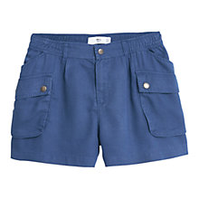 Buy Mango Side Pocket Shorts, Medium Blue Online at johnlewis.com
