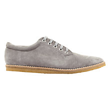 Buy Mint Velvet Isla Suede Plimsolls, Grey Online at johnlewis.com