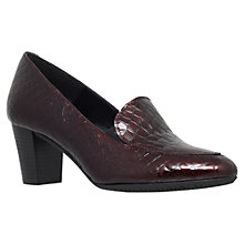 Buy Carvela Comfort Alice Slip On Block Heeled Court Shoes Online at johnlewis.com
