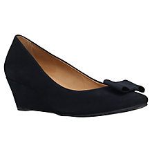 Buy Carvela Comfort Abby Tassel Vamp Wedge Court Shoes Online at johnlewis.com