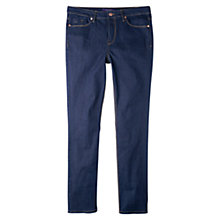 Buy Violeta by Mango Slim-Fit Susan Jeans, Open Blue Online at johnlewis.com