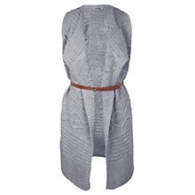 Buy Miss Selfridge Waterfall Belted Cardigan Online at johnlewis.com