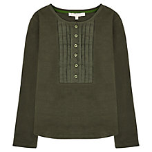 Buy Jigsaw Junior Girls' Pleat Bib Top Online at johnlewis.com