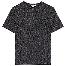 Buy Reiss Pool Dot T-Shirt, Navy Online at johnlewis.com
