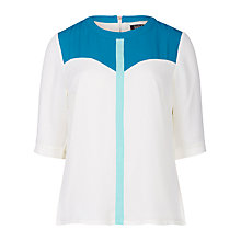 Buy Sugarhill Boutique Faye Colour Block Top, Multi Online at johnlewis.com