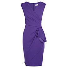 Buy Coast Emmy Dress, Purple Online at johnlewis.com