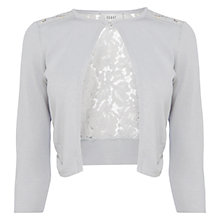 Buy Coast Lace Mab Cover Up, Silver Online at johnlewis.com
