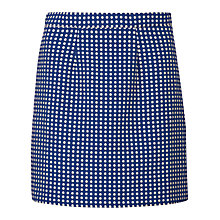 Buy Sugarhill Boutique Hayley Spot Jacquard Skirt, Blue/Cream Online at johnlewis.com