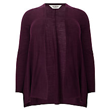 Buy Studio 8 Poppy Wool-Blend Cardigan, Claret Online at johnlewis.com
