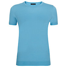 Buy Jaeger Gostwyck Wool Top, Bluebell Online at johnlewis.com