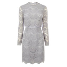 Buy Coast Luella Lace Dress, Grey Online at johnlewis.com