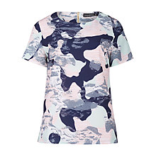 Buy Sugarhill Boutique Harriet Camo Print Top, Multi Online at johnlewis.com