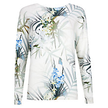 Buy Ted Baker Nayda Twilight Floral Print Sweater, Natural Online at johnlewis.com