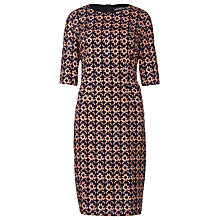 Buy Sugarhill Boutique Jamie Spot Shift Dress, Navy/Peach Online at johnlewis.com