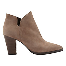 Buy Mint Velvet Poppie Ankle Boot, Caramel Leather Online at johnlewis.com
