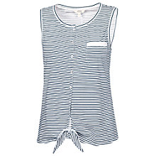 Buy Fat Face Burwick Stripe Tank Top, Indigo Online at johnlewis.com