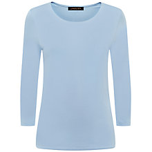 Buy Jaeger Essential Jersey Top, Bluebell Online at johnlewis.com