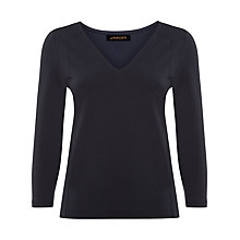 Buy Jaeger Seam Detail Jersey Top Online at johnlewis.com