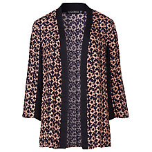 Buy Sugarhill Boutique Bonnie Spot Print Kimono, Navy/Peach Online at johnlewis.com