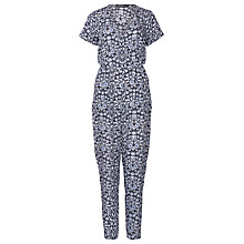 Buy Sugarhill Boutique Natasha Floral Jumpsuit, Blue Online at johnlewis.com