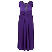 Buy Windsmoor Embellished Maxi Dress, Dark Purple Online at johnlewis.com