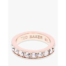 Buy Ted Baker Claudie Crystal Ring Online at johnlewis.com