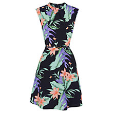 Buy Oasis Tropical Print Dress, Multi Online at johnlewis.com