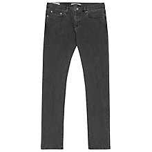 Buy Reiss Vale Slim Fit Jeans, Off Black Online at johnlewis.com
