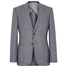Buy Reiss Billie Textured Wool Blazer, Grey Online at johnlewis.com