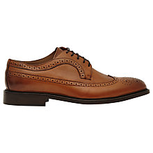 Buy Reiss Ash Tan Leather Brogues, Tan Online at johnlewis.com