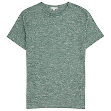 Buy Reiss Mayers Flecked Cotton T-Shirt Online at johnlewis.com