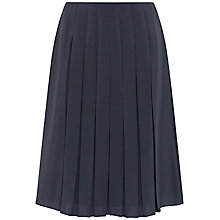 Buy Jaeger Pleatet Kilt Skirt, Midnight Online at johnlewis.com