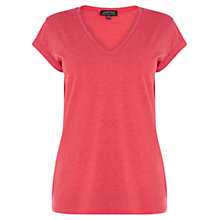 Buy Warehouse V-Neck Boyfriend T-Shirt Online at johnlewis.com