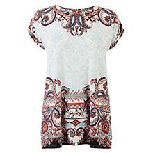 Buy Warehouse Paisley Printed Top, Multi Online at johnlewis.com