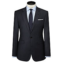 Buy John Lewis Tailored Wool Flannel Suit Jacket, Airforce Online at johnlewis.com