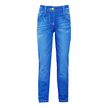 Buy John Lewis Girls' Distressed Boyfriend Jeans, Blue Online at johnlewis.com
