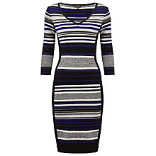 Buy Phase Eight, Fianna Stripe Knit Dress, Multi Online at johnlewis.com