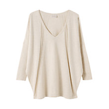 Buy East Oversized Stitched Jumper Online at johnlewis.com