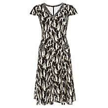 Buy Fenn Wright Manson Kiera Dress, Cream/Black Online at johnlewis.com