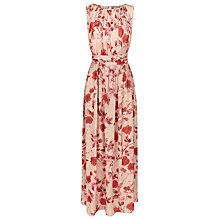 Buy Kaliko Oriental Bloom Maxi Dress, Multi Red Online at johnlewis.com