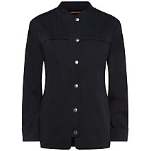 Buy Jaeger Casual Pocket Jacket, Midnight Blue Online at johnlewis.com
