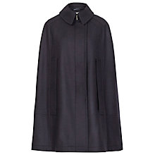 Buy Reiss Cavalier Lux Fashion Cape, Navy Online at johnlewis.com