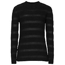 Buy Reiss Porter Skinny Rib Roll Neck Jumper Online at johnlewis.com