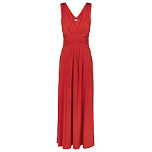 Buy Kaliko Jersey Maxi Dress, Bright Red Online at johnlewis.com